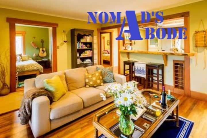 Nomad's Abode(ht tub+walk dwtn)*USE 2o19-ooo9