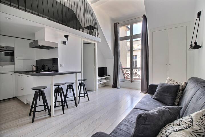 Petit Champs Amazing Flat with Private Terrace - Paris - Daire
