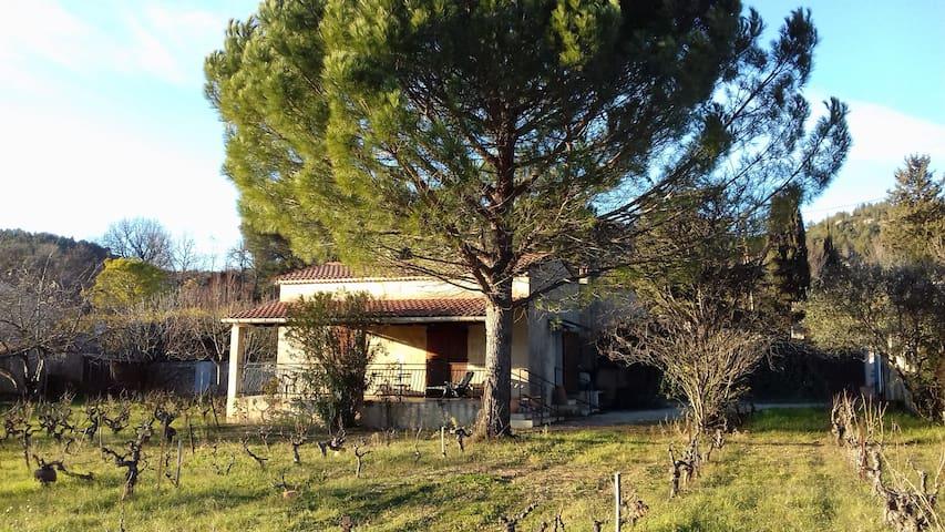 l'Espelido, au milieu des vignes d'Auriol - Auriol - Дом