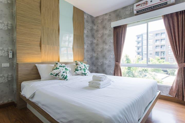 305 Hotdeal! Cozy room near Nimman St. - Chang Phueak - Condominio