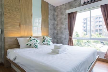 305 Hotdeal! Cozy room near Nimman St. - Chang Phueak - Συγκρότημα κατοικιών