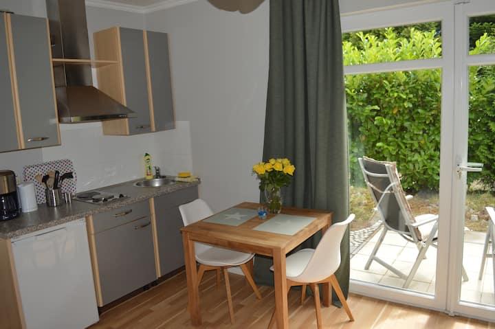 Ein-Zimmer-Wohnung am Rande Lüneburgs