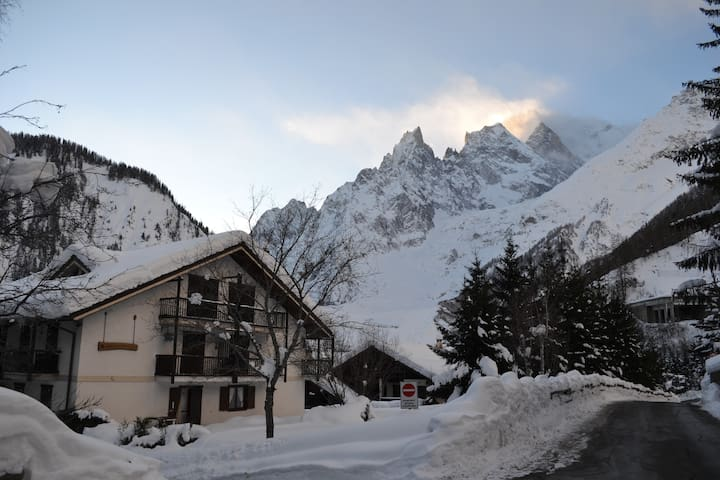 Want to ski, walk and relax? - Courmayeur - อพาร์ทเมนท์