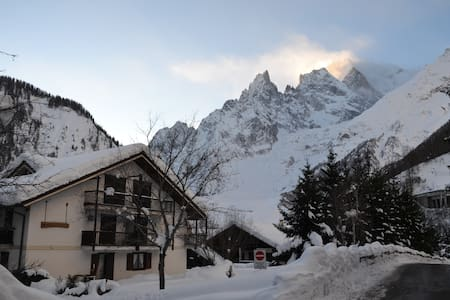 Want to ski, walk and relax? - Courmayeur - Apartemen