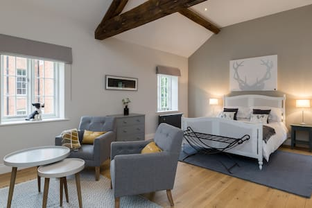 The Old Cottages at Eathorpe Hall - Clover Suite - Eathorpe - Bed & Breakfast