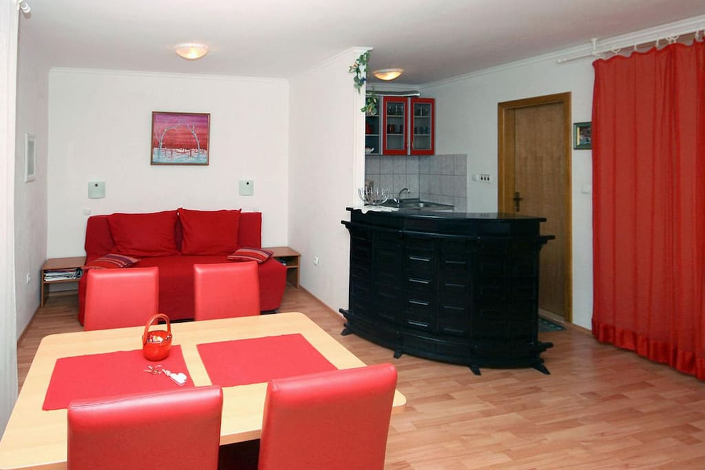 Dining room, Surface: 22 m²