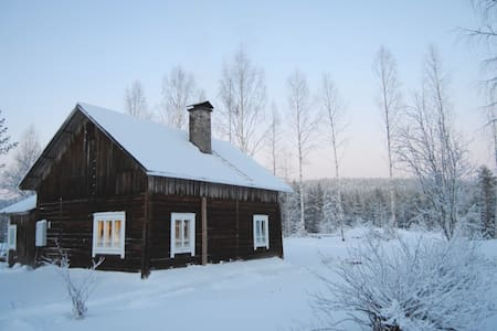 Old Finnish farmhouse