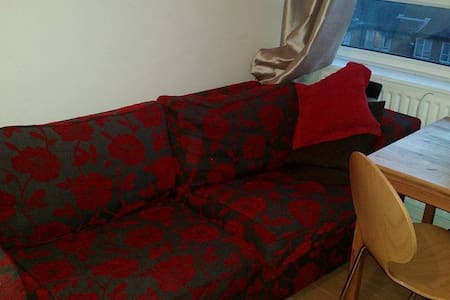 Sofa close to central London - TV and Wi-Fi inc. - London - Apartment