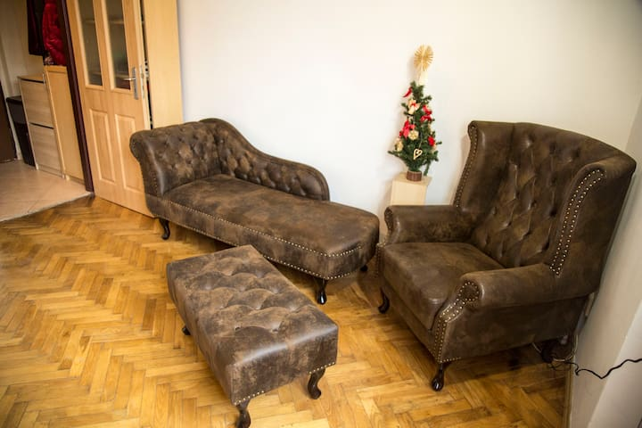 City center quiet and cozy apartment near Vysehrad