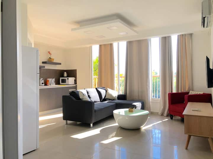 Designer one bedroom Vacation House- City Center