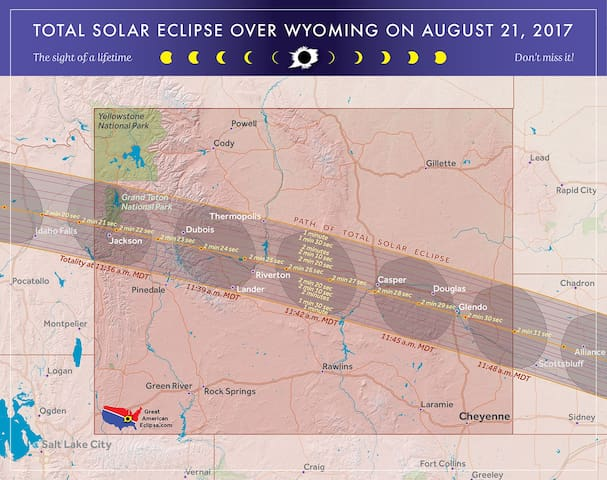 Eclipse Viewing at Blazing 7s Ranch- TENT Camping - Riverton - Annat