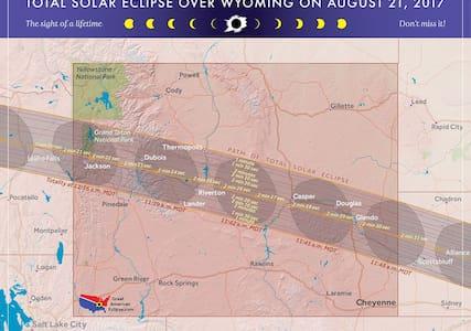 Eclipse Viewing at Blazing 7s Ranch- TENT Camping - Riverton - Egyéb
