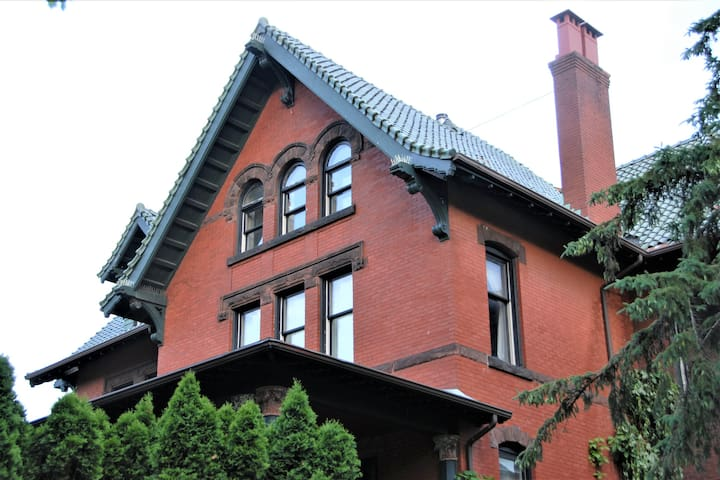 Architect's 3 Story Brownstone 3B4B Loring Heights