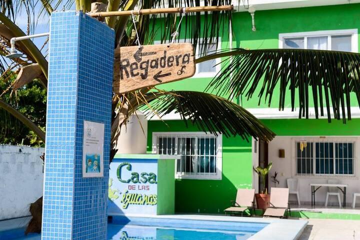 La Casa de Las Iguanas (ground floor apartment)