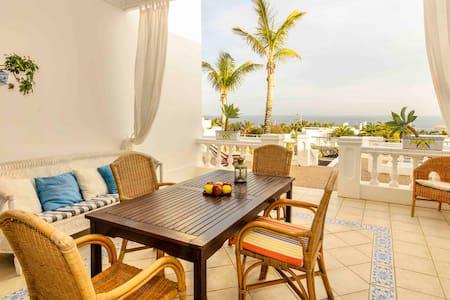 Villa del Puerto, seaview, wifi and pool - Puerto Calero - Casa de camp