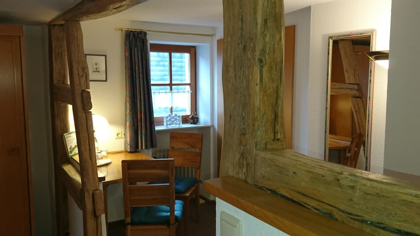 Double room-Comfort-Ensuite with Shower-Courtyard view-Doppelzimmer  Nr.2