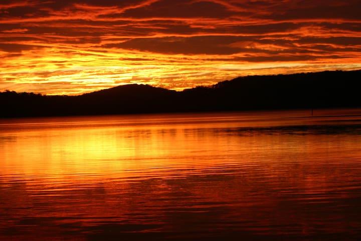 Sunset at Smiths Lake