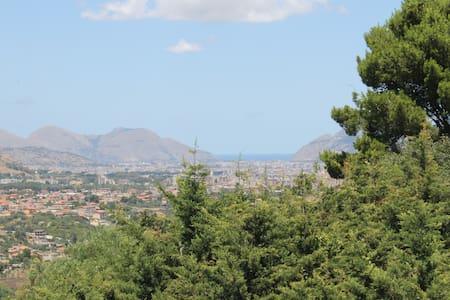 Villa Buena Vista, economica, tranquilla nel verde - Monreale