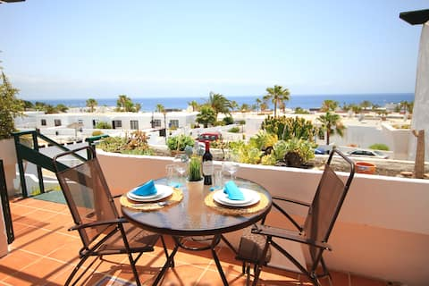 Spectacular sea views!! Pool - 5min to the beach!