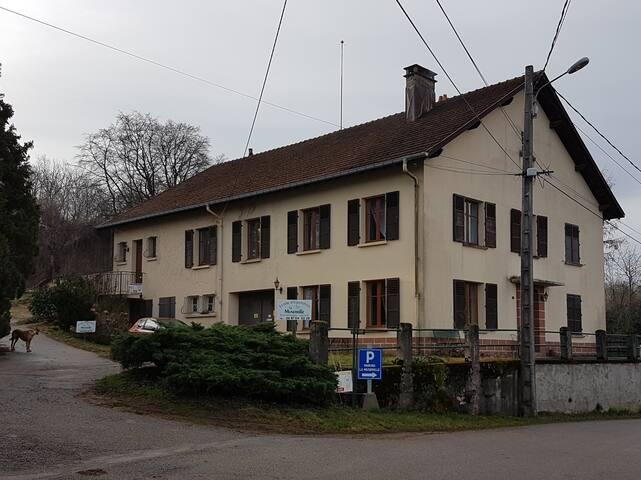 La maison où vous serez accueillis