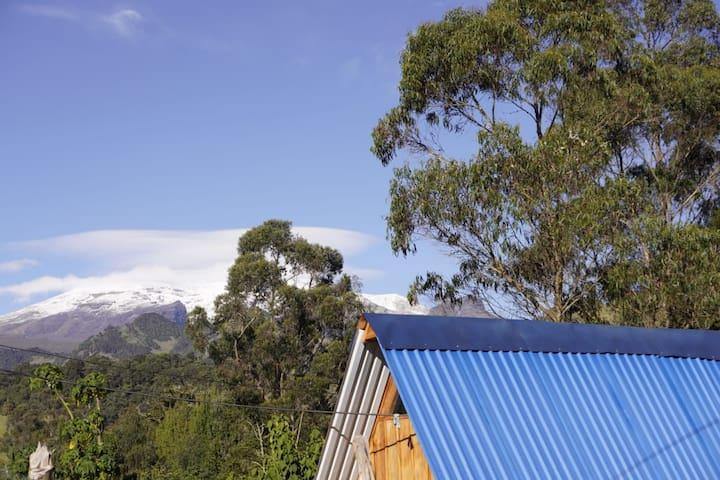 Nevado del Ruiz Cabañas el Silencio Murillo
