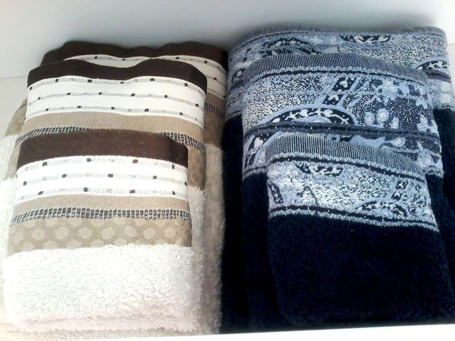toallas para cada huésped