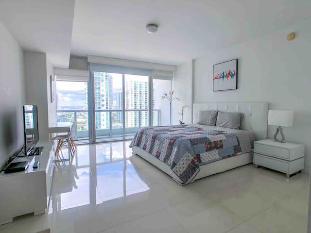 •AMAZING STUDIO BRICKELL MIAMI BESTVIEW 5*CONDO