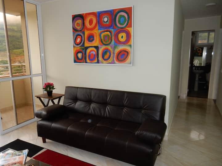 Bonito apartamento cerca a San Gil