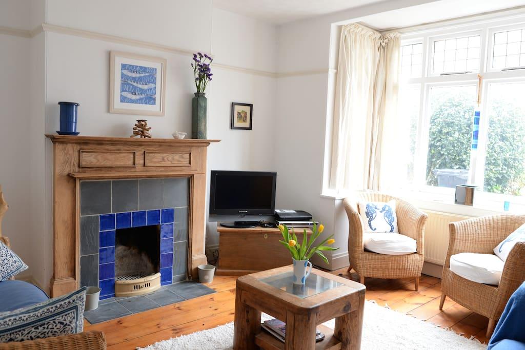 Airy light living room