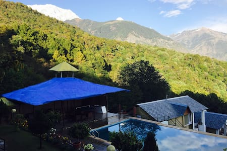 Deluxe Luxury Room at The Exotica, Dharamshala - Bed & Breakfast