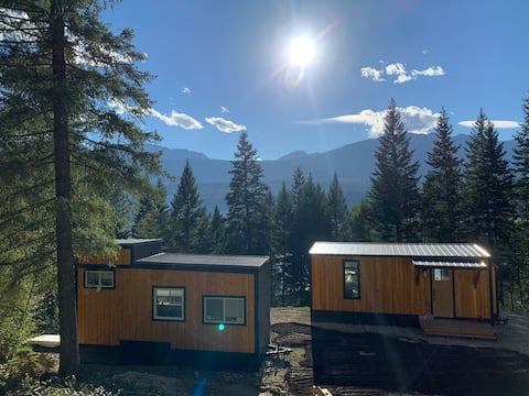 Mount 7 TINY HOUSE WIFI SAUNA HOT TUB VIEWS