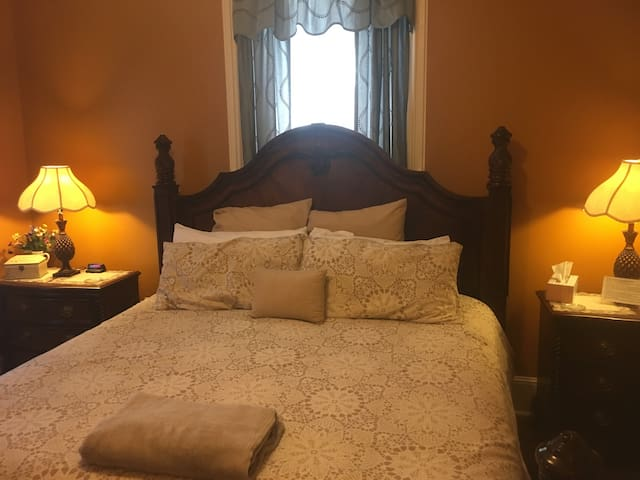 Bayberry House Bed and Breakfast King Room with Private Bath with Shower