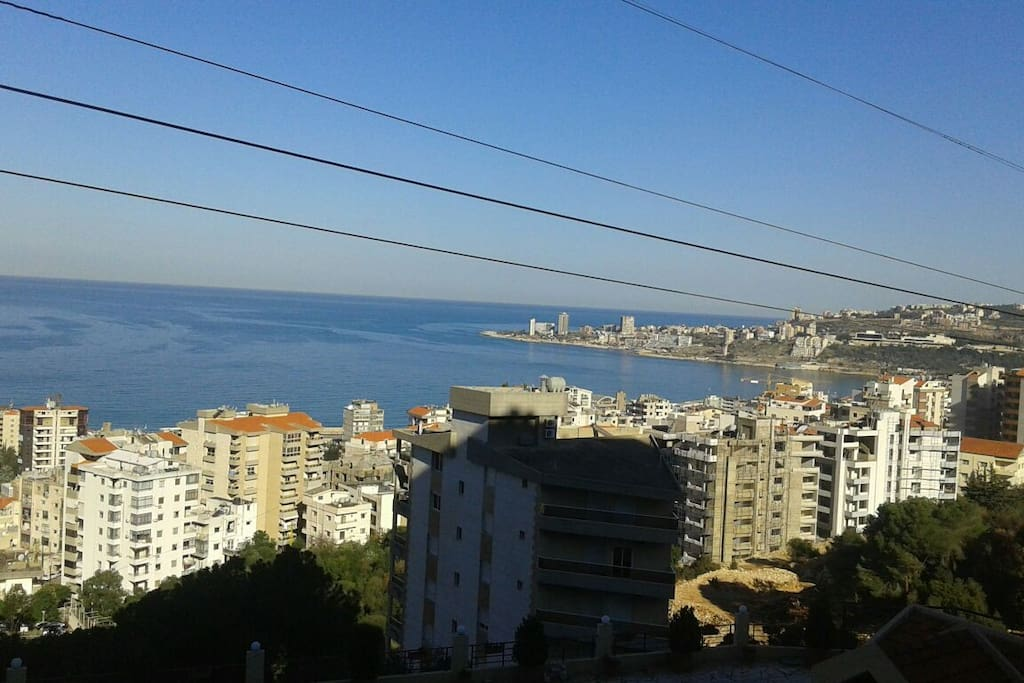 Quiet and relaxing atmosphere close to the city. - Wohnungen zur Miete in Jounieh, Mount Lebanon ...