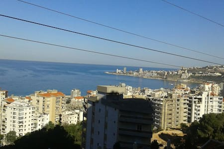 Quiet and relaxing atmosphere close to the city. - Jounieh - Квартира