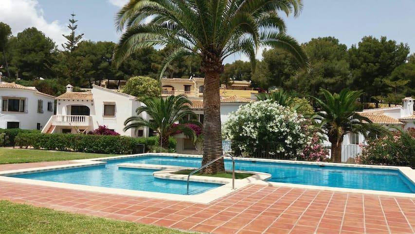 casa en moraira con piscina - Teulada - Maison