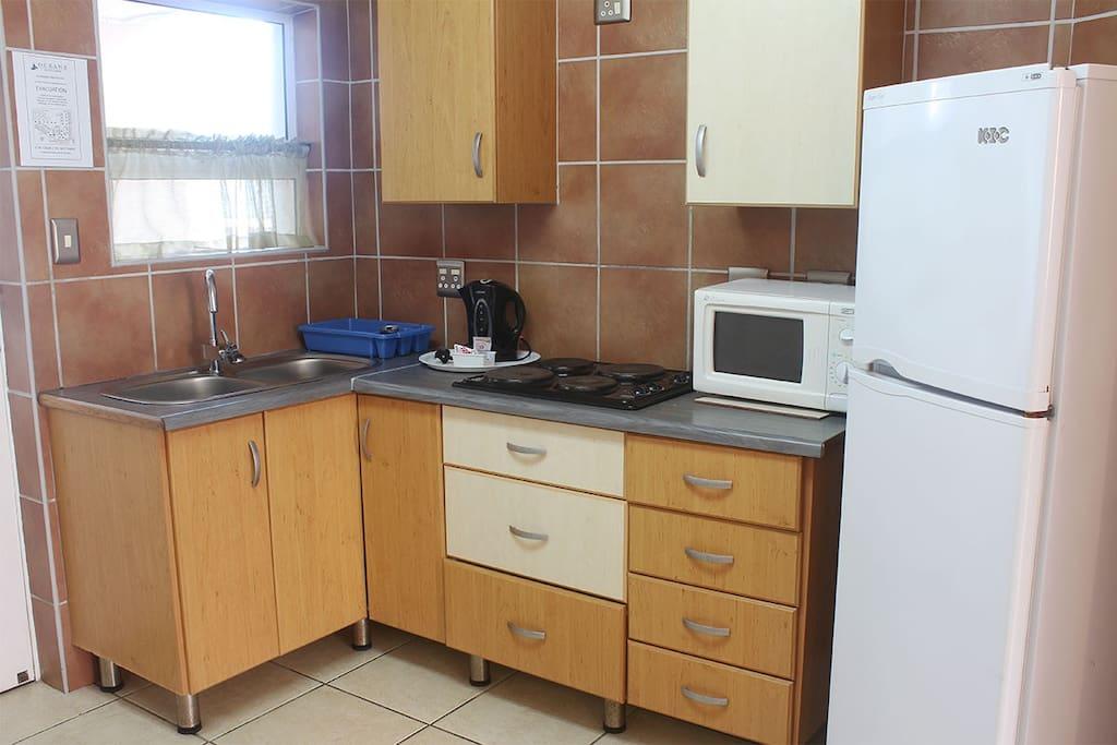 The Studio Apartment's kitchen