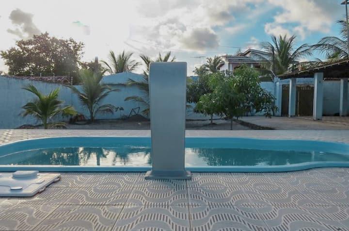 Casa no Guaibim - 5/4,  com piscina, WI FI