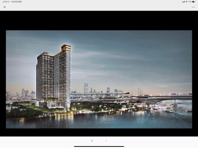 The Politan Rive 泰国暖武里湄南河边的综合公寓