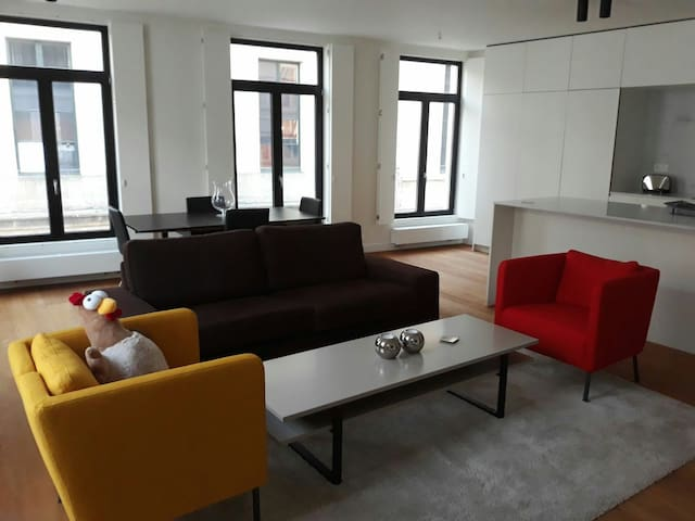 A Modern Design Luxury Flat In The City Center