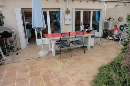 Cape of Antibes 2 P 44 m2 with garden and parking - Antibes