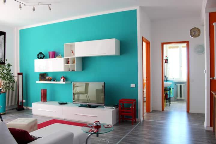 Appartamento a Piombino centrale con vista mare