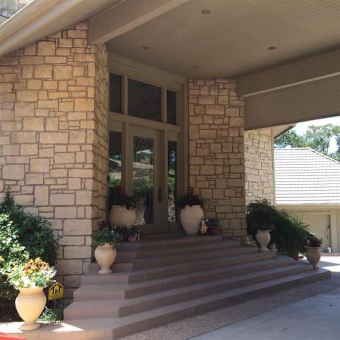 Front porch - portico