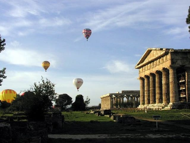 Paestum by the sea and roman ruines - Licinella-Torre di Paestum - อพาร์ทเมนท์