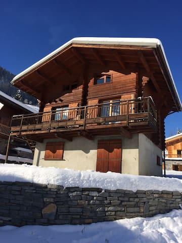 Logement dans chalet montagne - Villaroger - Natuur/eco-lodge