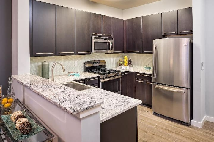 1 stop from NYC. Luxury apartment - Secaucus - Apartment-Hotel