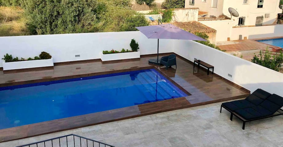 Exclusive pool for your private use