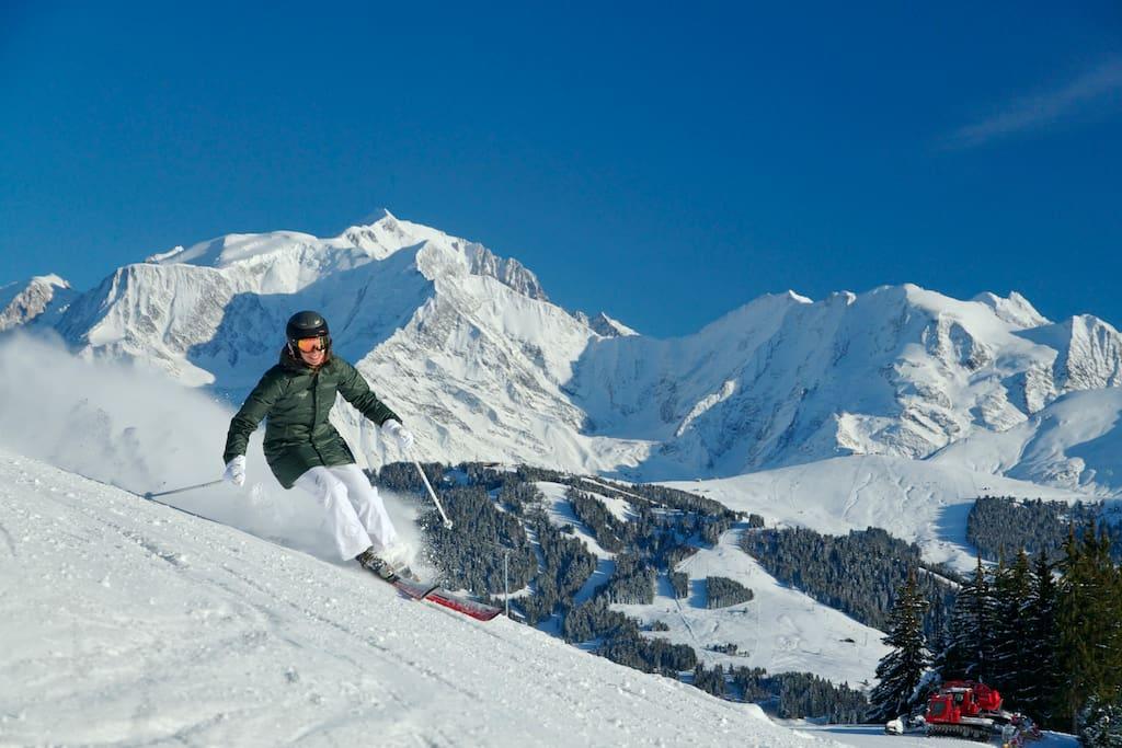 Domaine skiable des Houches