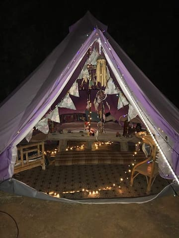Magical Bell Tent In the North of Ibiza