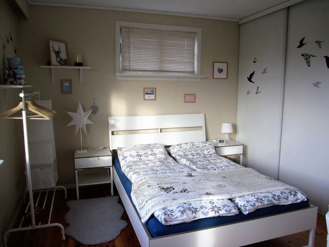 Cozy room 10 min walking from the city center