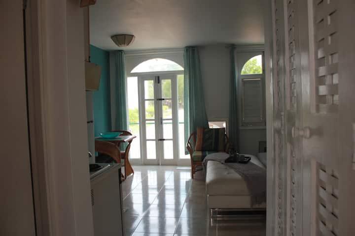 Sunny Seaside Studio Apartment